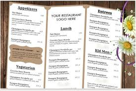 40 best and impressive restaurant menu templates