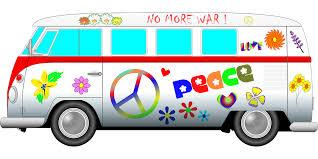 hippie van drawing hippie van clipart clipartxtras