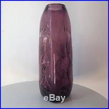 Blenko Vase Rare Vintage Amethyst Purple Blenko Vase 5422 Wayne Husted Mid