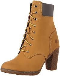 womens boots amazon uk timberland glancy 6 inch s combat boots amazon co uk