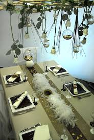 deco mariage original idées de décoration de table de mariage pluie de roses