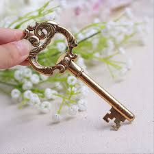 key bottle opener wedding favors vintage gold key bottle opener for wedding ewfh027 as low as 2 5