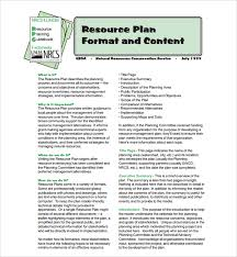 resource plan template download free weekly lesson plan template