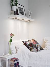 bedroom shelves 8 tips in decorating a small room the simple guide to making the