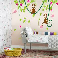 flower drawings on wall carolyn s funky furniture flower murals flower drawings on wall home decor world picture more detailed picture about monkey