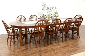 oak vintage dining set 54