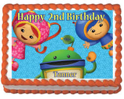 umizoomi cake toppers team umizoomi 2d fondant birthday cake topper