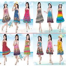 summer beach dress kids summer long bohemian beach dresses