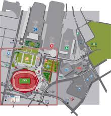 Atlanta Street Map Stadium Maps Mercedes Benz Stadium