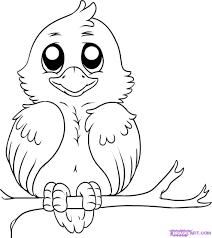 birds drawing for kids how to draw a cute bird art pinterest