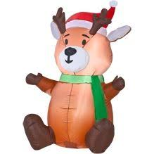 Christmas Reindeer Decorations Canada by 73 Best Gemmy Inflatables Christmas Images On Pinterest Item