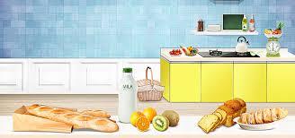 affiches cuisine cuisine cuisine gastronomique du des œufs de fruits de lait à