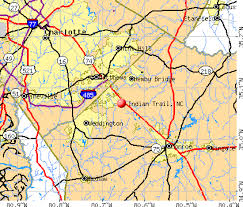 indian trail carolina nc 28104 profile population maps