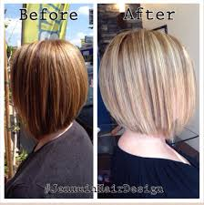 xtreme align hair cut brown to blonde and a graduated a line bob haircut with blowdry yelp