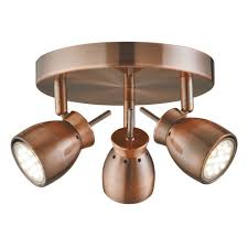 searchlight 8811cu single led wall spotlight in copper from lights