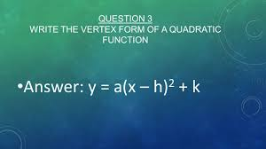 review for quiz 3 algebra ii question 1 factor the following