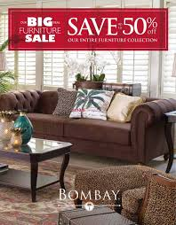 Furniture Stores Kitchener Waterloo Ontario by Bombay Canada Flyers