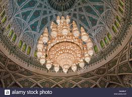Largest Chandelier The Worlds Largest Chandelier In Sultan Qaboos Grand Mosque