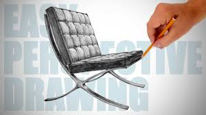 Chair Jpg Rocking Chair Drawing How To Draw Barcelona Chair Easy Perspective Drawing 16 Youtube