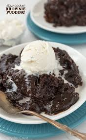 this slow cooker brownie pudding couldn u0027t be easier to make