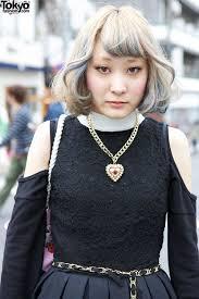 short hairstyle w shojono tomo bag cutout dress u0026 tokyo bopper