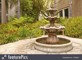 small backyard garden fountain san diego california picture