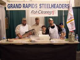 ultimate sport show grand rapids fish cleaning demonstrations