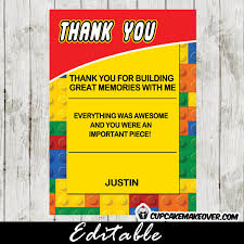 wars thank you cards free printable lego wars thank you cards archives cool