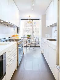 modern galley kitchen white galley kitchen with superb modern idea modern galley style