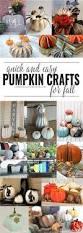 fall pumpkin crafts domestically creative