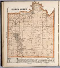 Illinois Township Map by Silver Creek Township Stephenson County Illinois David