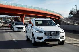 volvo trucks china volvo to test 100 autonomous cars on public roads in china motor