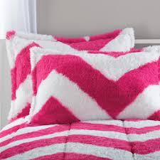 Fur Bed Set Your Zone Long Fur Bedding Comforter Set Walmart Com