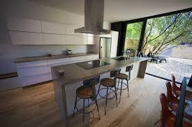 comptoir ciment cuisine créer chez soi de toutes pièces léger rénovation