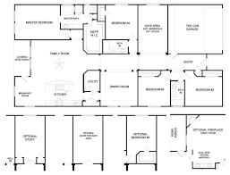floor plans 4 bedroom 3 bath 4 bedroom ranch floor plans ahscgs com