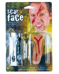 scarface make up set buy latex scars special make up set