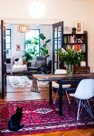warm eclectic one bedroom apartments bohemian and