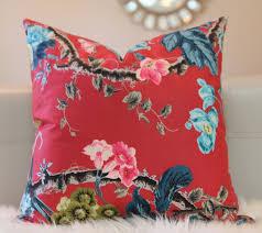 schumacher elizabeth multi rouge schumacher fabric
