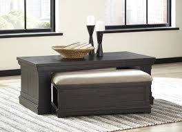 Ashley Furniture T935 1 Sharlowe Charcoal Casual Cocktail Table