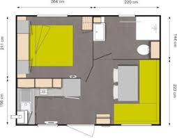 csite st malo mobile home 1 bedroom 2 to 3 pers