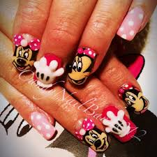 100 best minnie mouse nails images on pinterest mice minnie
