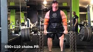 ben moore week 7 deadlift and bench youtube