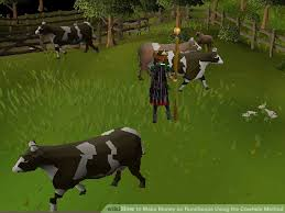 Cowhide Uses How To Make Money On Runescape Using The Cowhide Method 15 Steps