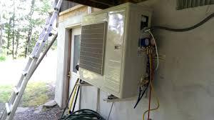 senville aura heat pump unbox install review youtube