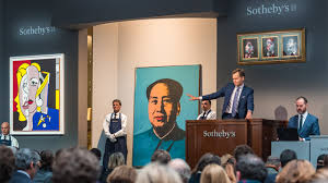 contemporary art evening auction sotheby u0027s