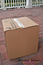 Decorate Cardboard Box My 2 68 Christmas Decorations Celebrate U0026 Decorate