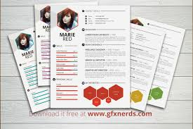Free Infographic Resume Templates Endearing Infographic Resume Template Psd Free For Top 5
