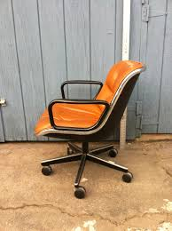 Mid Century Leather Chairs 240 Eames Style Mid Century Leather Office Desk Chair 010