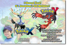 pokemon birthday invitations candy wrappers thank you cards