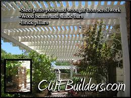 Shades For Patio Covers Patio Covers And Decks Santa Clarita Christopher French Construction